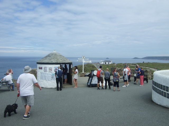 Tourists, Land's End