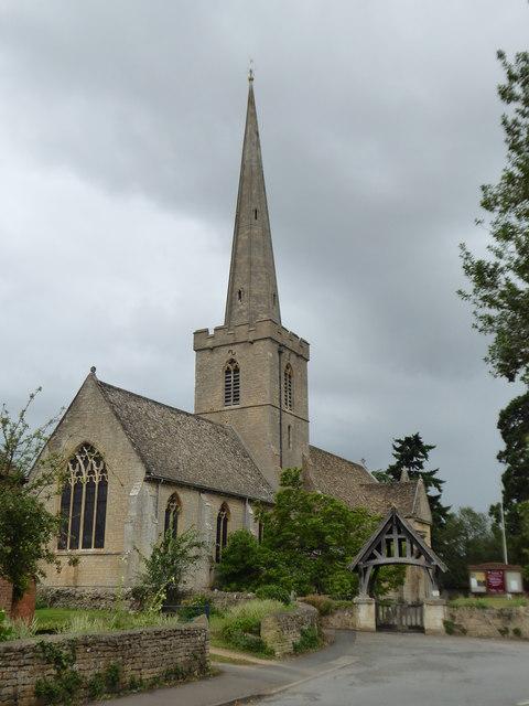 The Parish Church of St Giles, Bredon