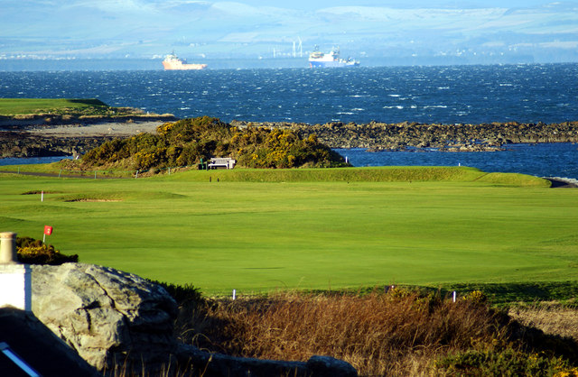 Balcomie Links, Fife Ness