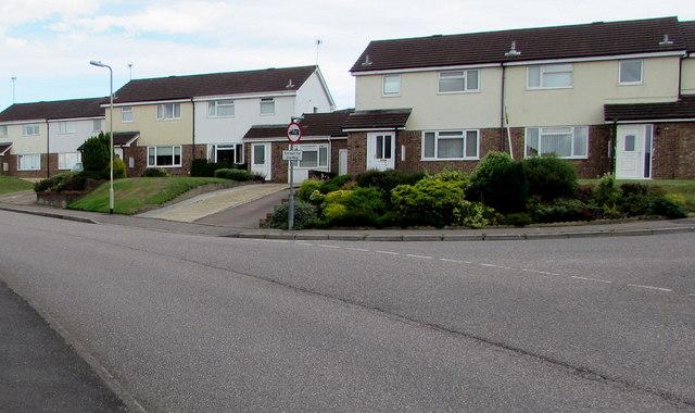 Marlpits Lane houses, Honiton