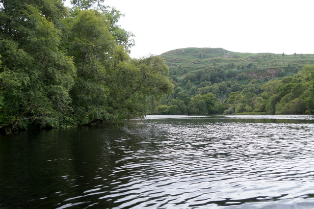 River Beauly from canoe at Eskadale