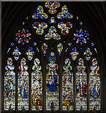SX9292 : Lady chapel, east window, Exeter Cathedral by Julian P Guffogg