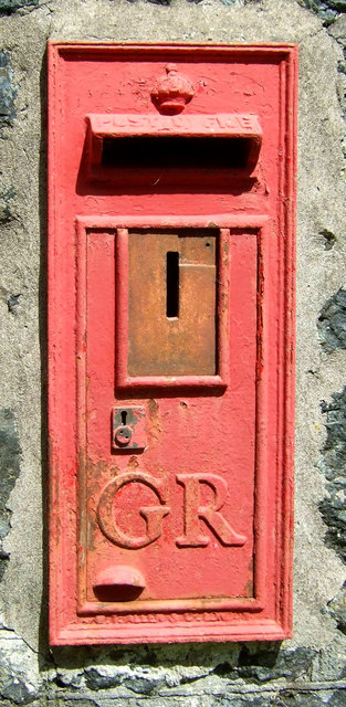 George V postbox, Tresaddern