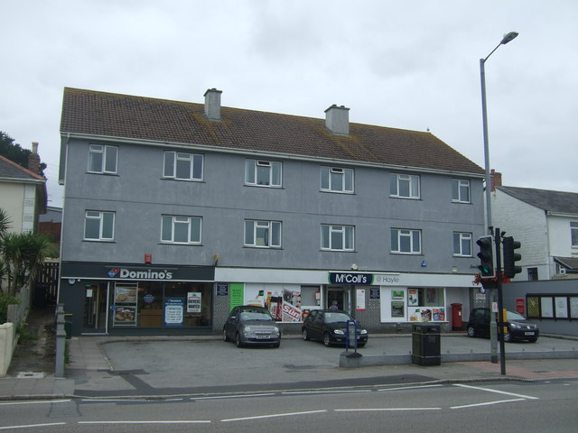 Hayle Post Office and stores