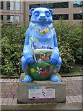 SP0787 : Birmingham Big Sleuth Captain Blue  Bear by Roy Hughes
