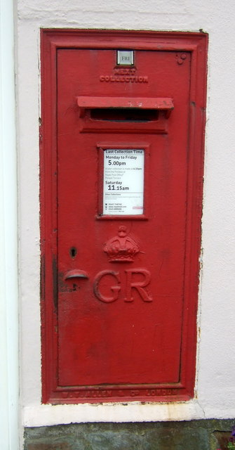 George VI postbox, Copperhouse Post Office