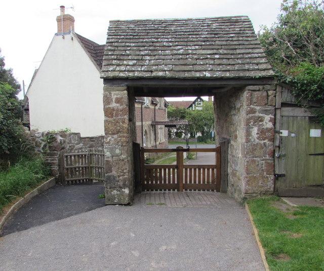 Lychgate, English Bicknor, Gloucestershire