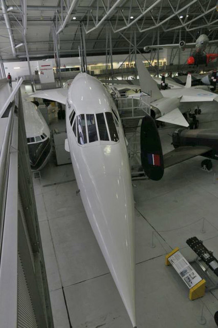 Looking on Concorde