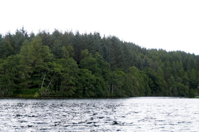 Eilean Aigas from a canoe on the River Beauly