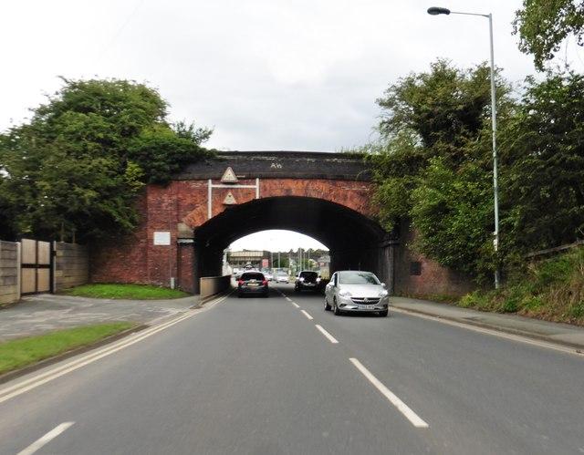 Railway bridges on Macclesfield Road