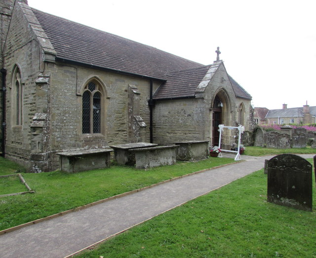 South side of the Grade I listed village church, English Bicknor