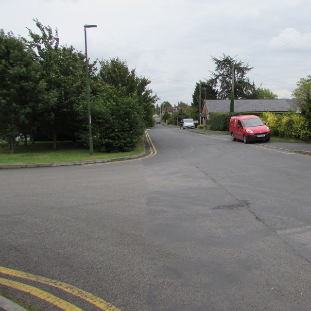 Side road to the village hall, Ashchurch