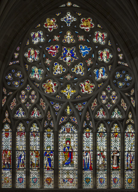 West window, Exeter Cathedral