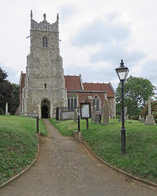 Newbourne: St Mary