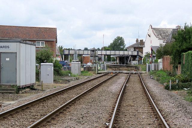 Towards Woodbridge Station