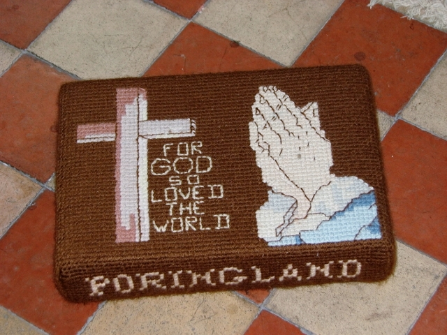 All Saints church, Poringland - kneeler