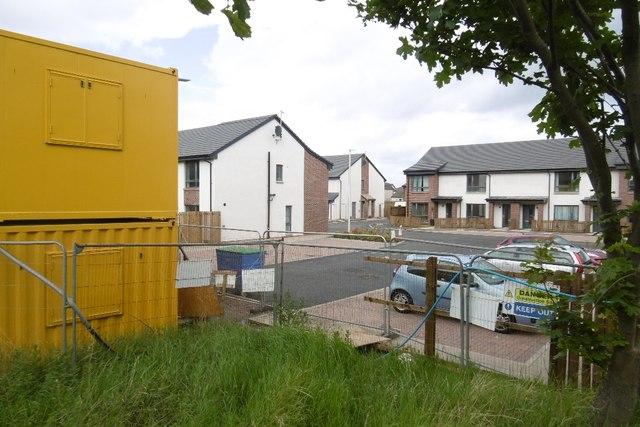 New houses, Inglis Farm