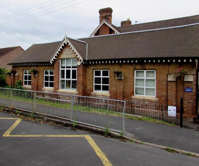 Oldest part of Ashchurch Primary School, Ashchurch