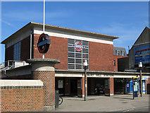 TQ1585 : Sudbury Hill tube station - entrance building by Mike Quinn