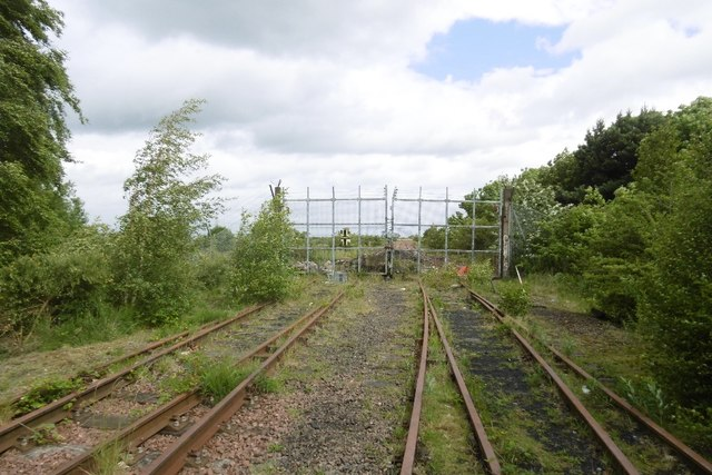 The coal store site