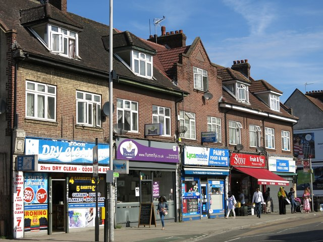 Parade of shops, Greenford Road