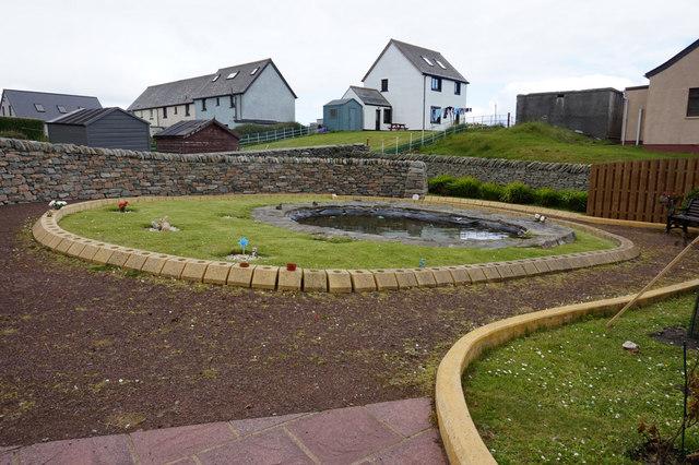 Louise Hughson Baby Memorial Garden, Lerwick