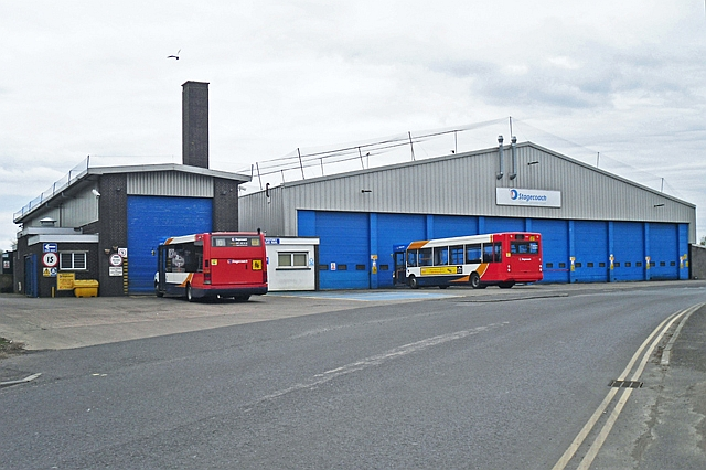 Stagecoach Bus Depot