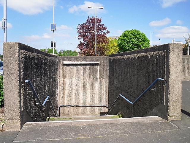 Subway entrance, (Upper) Viaduct car park