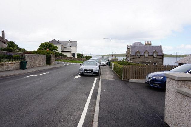Twageos Road, Lerwick