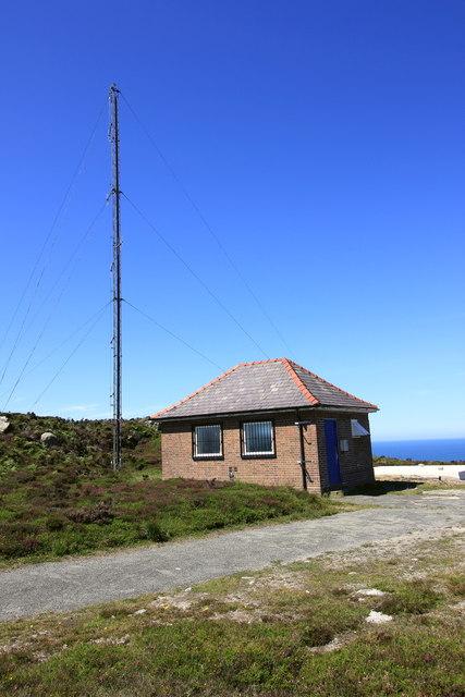 Radio Station near Holyhead Mountain