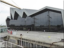 NS5565 : Riverside Museum from the Tall Ship by David Smith