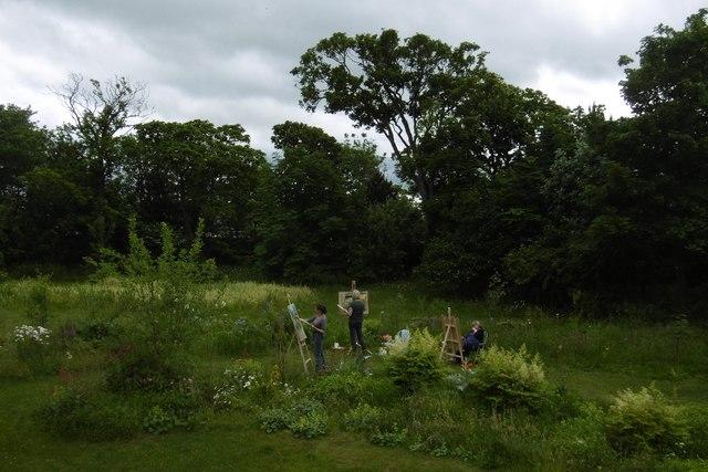 Cockenzie House gardens