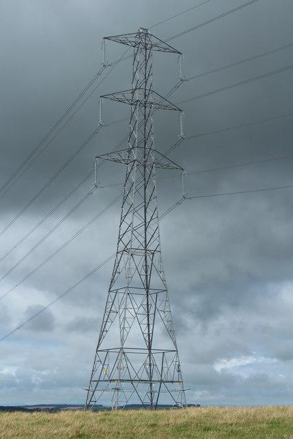 Pylon near Dalrympleston