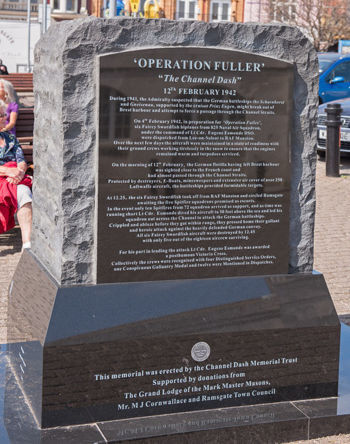 """""""Operation Fuller"""" Memorial, Ramsgate - July 2017"""