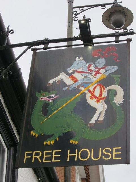 George & Dragon sign