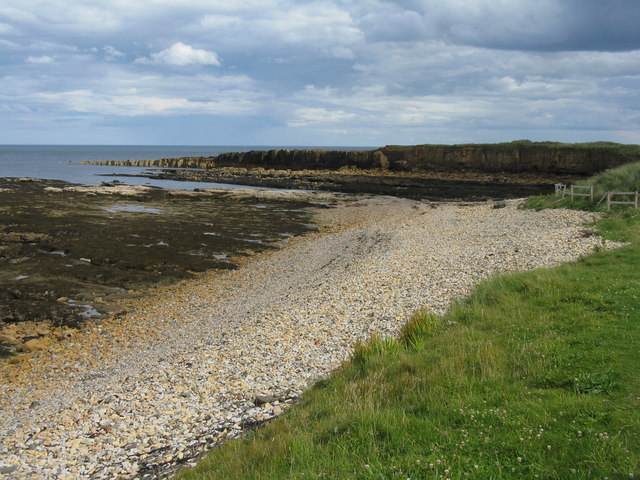 The coast at Beadnell