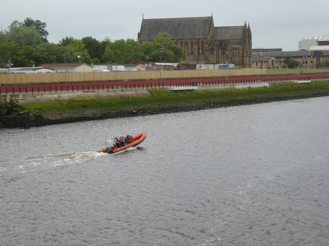 Rib on the River Clyde at Govan