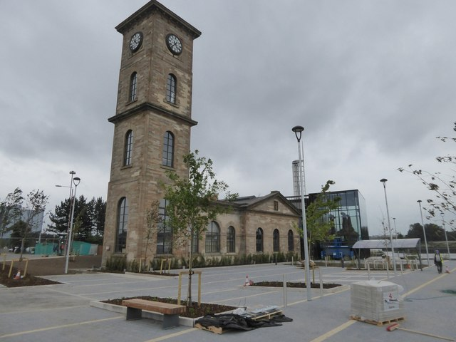 Former Port of Glasgow building (The Pumphouse)