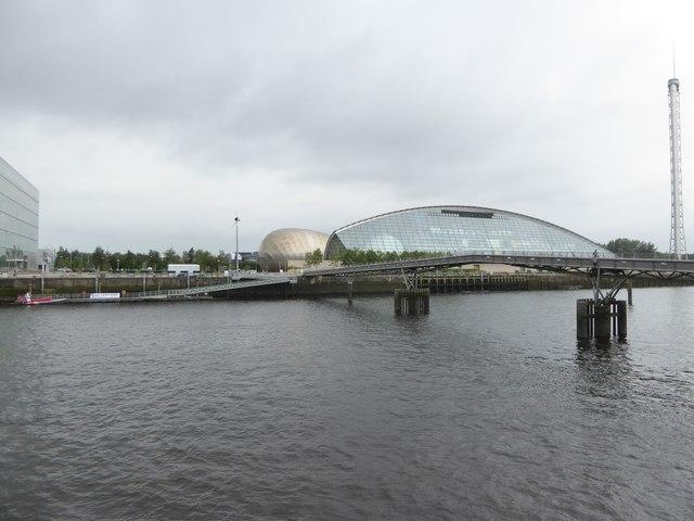 The Millennium Bridge over the Clyde