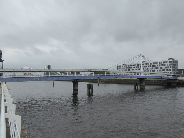 Bell's Bridge over the Clyde