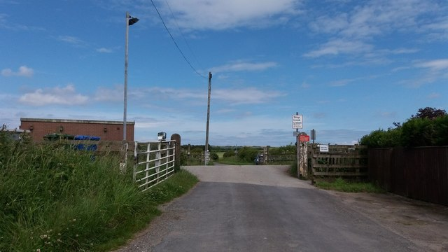 Level crossing south of Lebberston