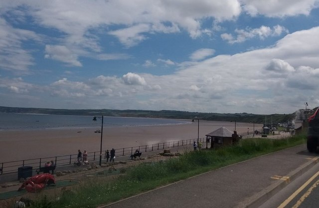 Filey Sands from The Beach Road
