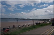 TA1280 : Filey Sands from The Beach Road by Stephen Sweeney