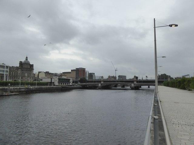 River Clyde, with four bridges