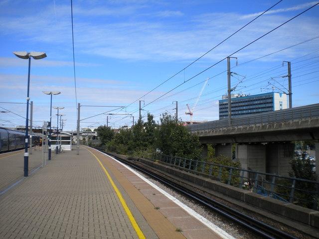Platform 6, Ashford International station