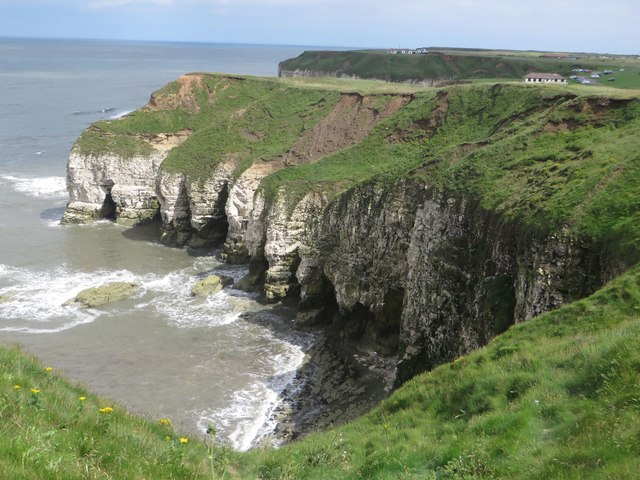 Cliffs at Sanwick Brig