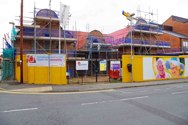 School Gardens under construction (1), Tan Lane, Stourport-on-Severn