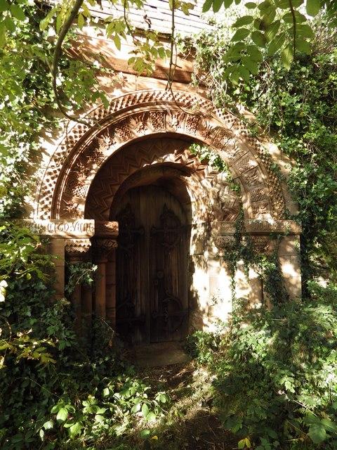 Kirkmaiden Church Door