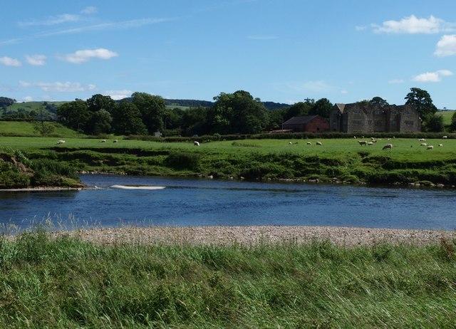 River Calder meets River Ribble