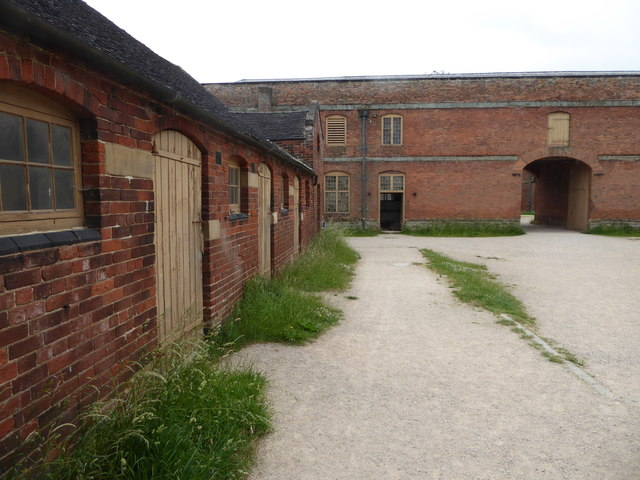 Calke Abbey - stables complex